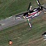 Boeing Vertol 107 with Fire Bucket (Google Maps)