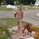 Lead Miner Statue