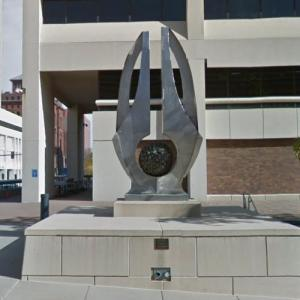 9/11 Wings of Angels, Ball of Hands (StreetView)