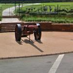 Königsberg Gun at the Union Buildings
