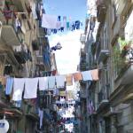 Laundry above the street
