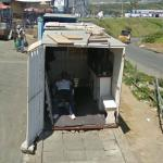 Barber Shop in a container (StreetView)