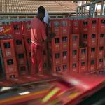 Coca Cola delivery