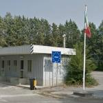 Border between Italy and Slovenia (StreetView)