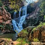 Waterfall at Walter Sisulu Botanical Gardens