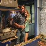 A couple in a seafood restaurant (StreetView)
