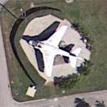 A-6 Intruder on static display (Google Maps)