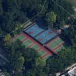Tennis courts at Inwood Hill Park