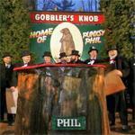 Gobbler's Knob 2014 ceremony