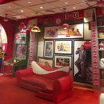Collector's Corner exhibit at the World of Coke Museum