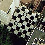 Big chessboard (Google Maps)