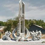 Chernobyl - Firefighters monument (StreetView)