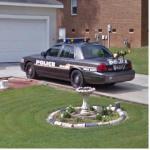 Grovetown,Ga Police Car