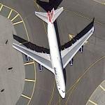 Boeing 747 in Oneworld special scheme