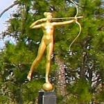 'Diana, The Huntress' by Augustus Saint-Gaudens
