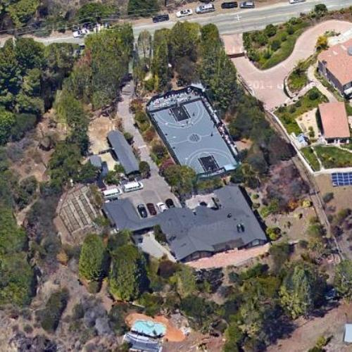 The Game S House In Calabasas Ca Google Maps 2