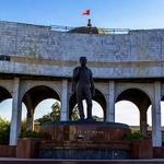 Monument to Chinghiz Aitmatov