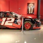 Justin Allgaier's stock car