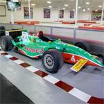Michel Jourdain's CART race car