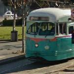 Historic PCC street car #1076