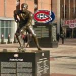 Montreal Canadiens statues