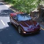Corvette (C5) in Yosemite National Park