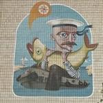 Mural by Aleksey Kislov in Kazan