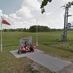 Monument to perished Belarusian pilots