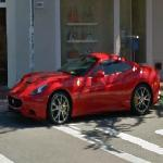 Ferrari California in California