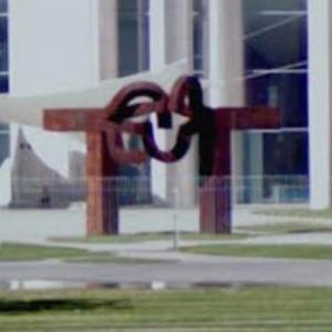 'Berlin' by Eduardo Chillida (StreetView)