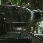 Russian SU-100 Tank