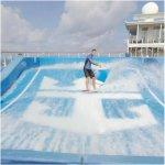 'Allure of the Seas' Wave Pool