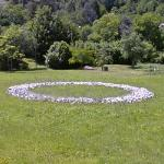 'Tagliamento River Stone Ring' by Richard Long
