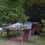 'Affleck House' by Frank Lloyd Wright (StreetView)