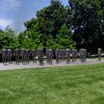 'Standing Figures (Thirty Figures)' by Magdalena Abakanowicz