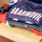 Zlatan Ibrahimović's PSG locker