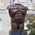 'Male Torso' by Fernando Botero
