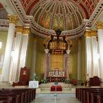 Interior of the Cathedral Basilica of the Immaculate Conception