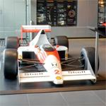 Alain Prost's 1989 Formula One car (StreetView)