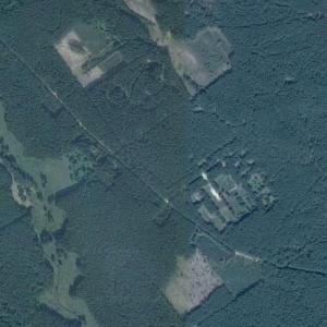 Former secret Soviet nuclear warhead storage base (Google Maps)