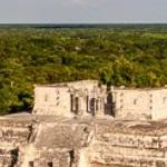 View of Chichen Itza from El Castillo