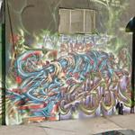 Alphabet Demons graffiti (StreetView)