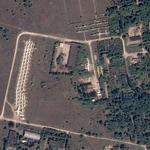 Aircraft boneyard at former DOSAAF Academy (Google Maps)