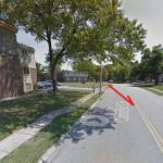 Michael Brown Shooting Location, StreetView
