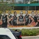 Miami Heat mural