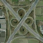 Cloverleaf interchange Hoevelaken