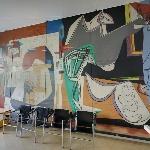 'Suisse Pavilion Mural' by Le Corbusier