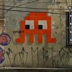 Graffiti by Invader