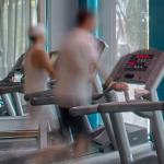 Person on Treadmill