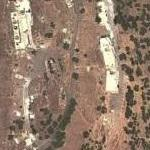 Alleged Russian SIGINT base inside Syria (Google Maps)
